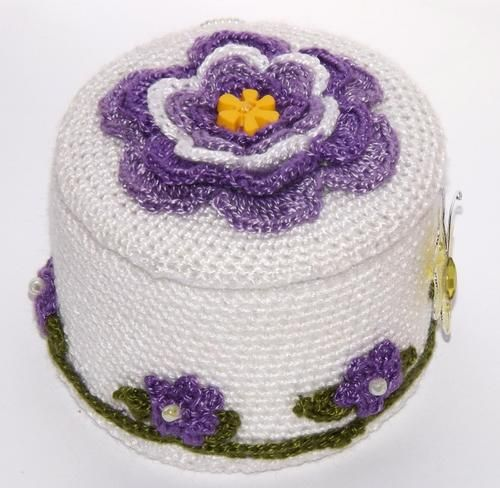 buy crocheted box - Google Search