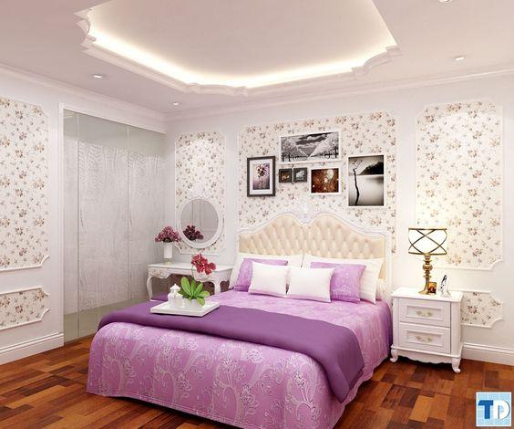 Nội thất phòng ngủ tiện nghi sang trọng