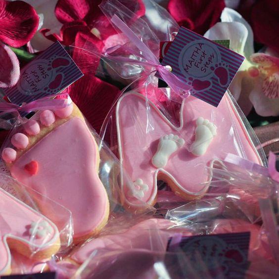 توزيعات مواليد بنات Baby Shower Favors Baby Girl Cookies Baby Shower