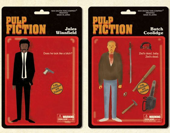 jules & butch created by Quentin Tarantino