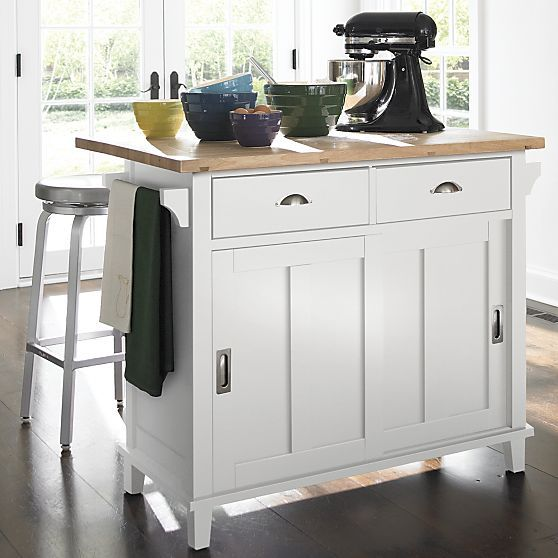 Perfect Ideas Of Crate And Barrel Kitchen Cart Best Home Design - Crate and barrel kitchen island