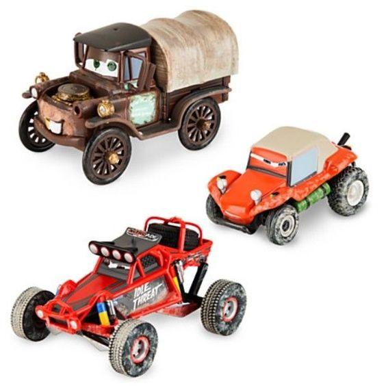 NIB Disney Mater Off Road Series 3 Die Cars Gift Set #Disney