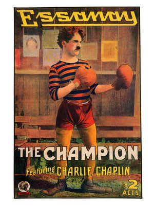 Image result for Chaplin THE CHAMPION