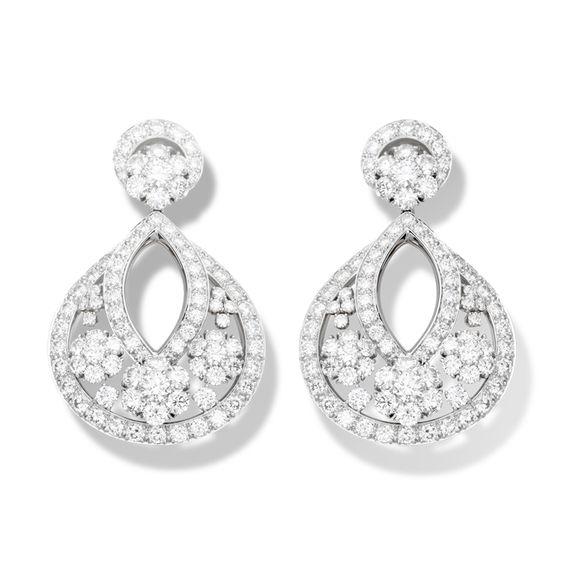 Van Cleef & Arpels - Snowflake earclips, large model