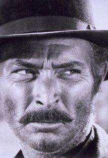 "Lee Van Cleef - <3<3<3!!! One of the great movie villains, Lee Van Cleef started out as an accountant. He served in the U.S. Navy aboard minesweepers and subchasers during World War II. He was involved in a car accident in 1959 in which he lost his left kneecap. Doctors told him he would never be able to ride a horse again because of the injury. Within six months he was back in the saddle. he had one green eye and one blue eye. ""This was corrected in the movies with colored contact lenses""."