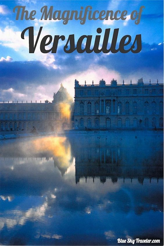 """*Versailles* Voltaire described it best """"a masterpiece of bad taste and magnificence"""". Created by the Sun King, Versailles is one of Frances most visited attractions and inspirations for many re-creations across the world.  A bucket list item to see."""