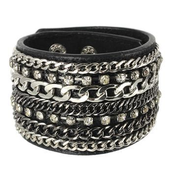 Leather & Chains - $24.00
