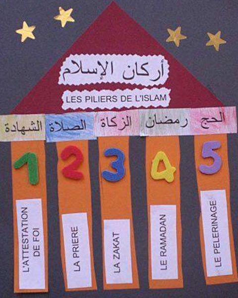 أعمال يدوية لمادة التربية الإسلامية وسائل تعليمية مبتكرة بالعربي نتعلم