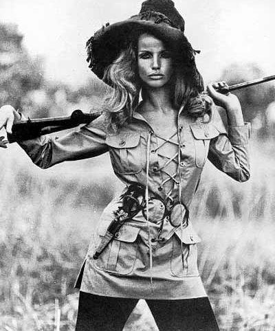 1968 - YSL groundbreaking safari collection