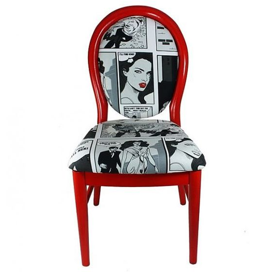 Pop art chairs and art on pinterest - Muebles pop art ...