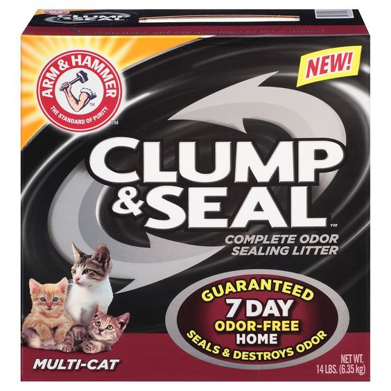 Arm & Hammer Clump & Seal Multi Cat Litter 14 lbs