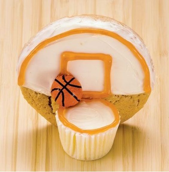 Cookie/ cupcake basketball net