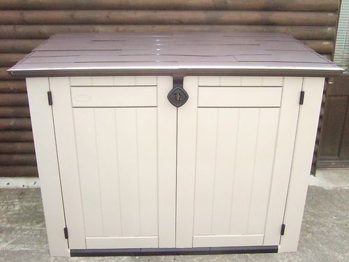 Pool pumps pump and pools on pinterest - Brown plastic garden sheds ...