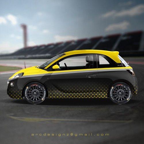 Fiat 500 Wrap Design Fiat 500