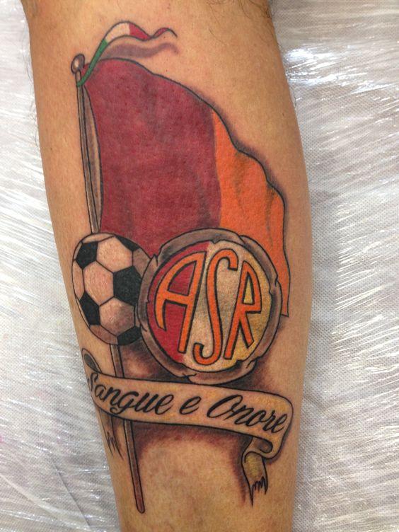 Tattoo bandiera Roma