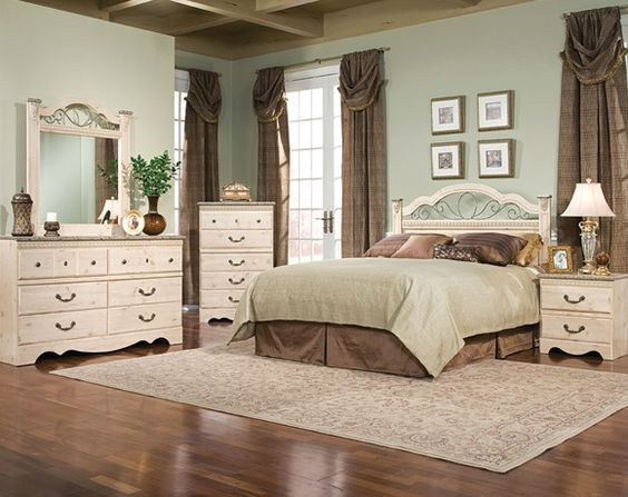 Seville bedroom sets and i choose on pinterest for Seville bedroom furniture