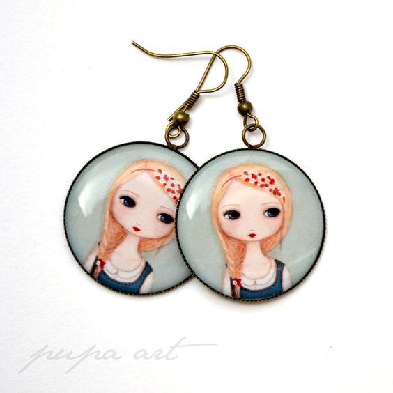 Original earrings.