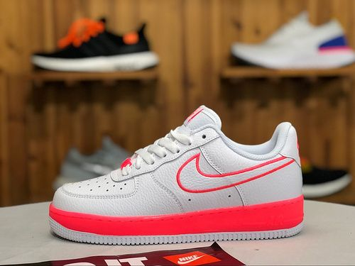 Women's Nike Air Force 1 Low White Pink 596728 060 Casual