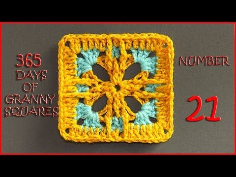 how to start a granny square youtube