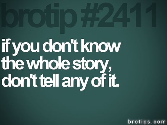 Exactly!!! Ik a person tht just assumes everything then spreads rumors!!!