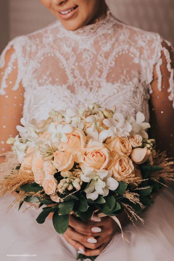 Buquê da noiva. Casamento Contemporâneo | Nayara e Diego