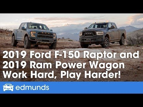 Ford F 150 Raptor And Ram Power Wagon 2019 Off Road Truck Review Youtube Ram Power Wagon Ford F150 Power Wagon