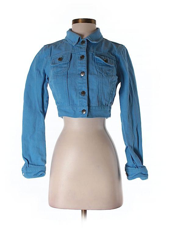 Check it out—Forever 21 Denim Jacket for $16.49 at thredUP!