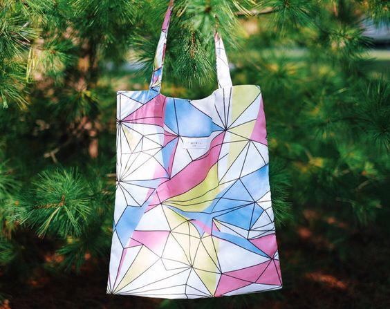 Diamond Tone High Quality Canvas tote bag