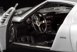 Interior shots on scale cars can be a challenge, but a straight steering wheel is a must