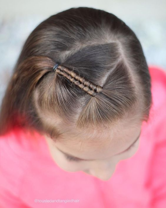 Link Doesn T Seem To Work But Love This Inspiration Researching Now What Type Of Braid This Is Kids Hairstyles Girls Short Hair For Kids Kids Hairstyles