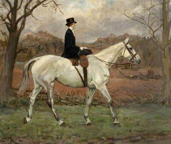Animal Paintings, Sidesaddle, Equine Paintings
