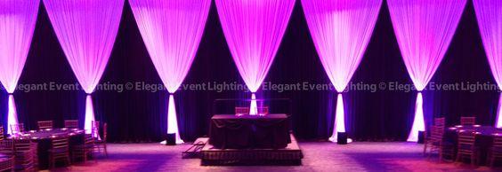 black white and dark purple wedding - Google Search