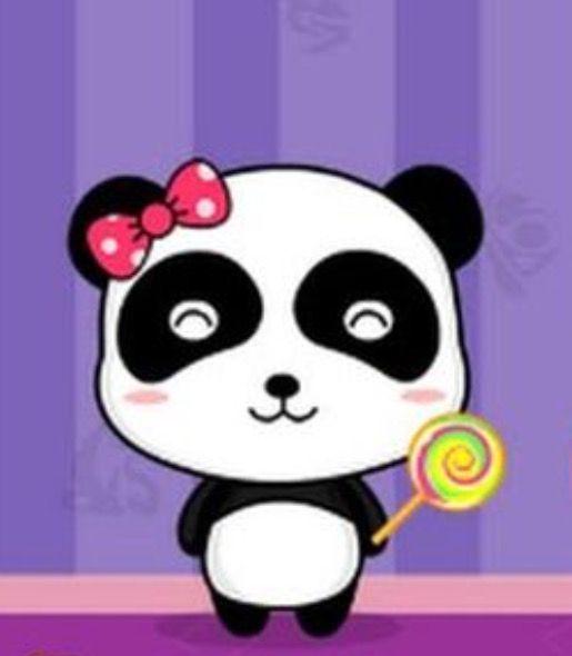 Miu Miu Panda From Babybus Cartoons Panda Party Kids Party Cute Panda