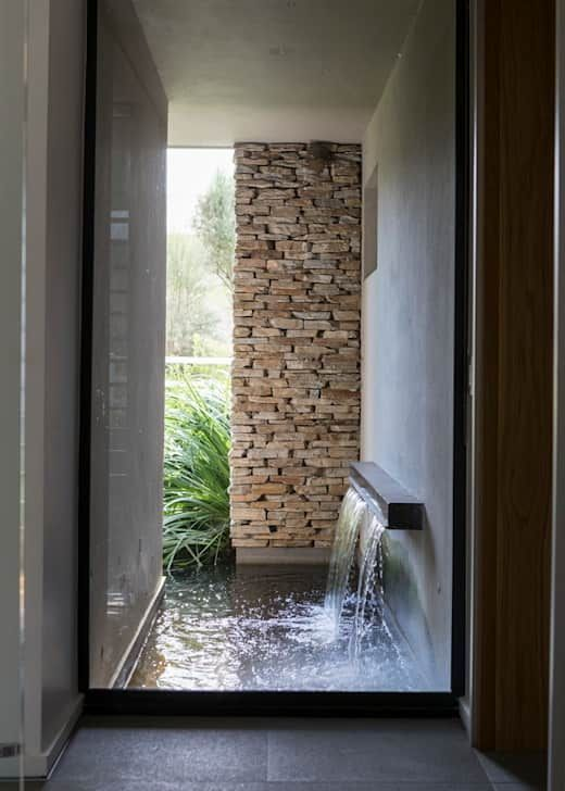 15 Wall Fountains You Can Make In Your Home Contemporary