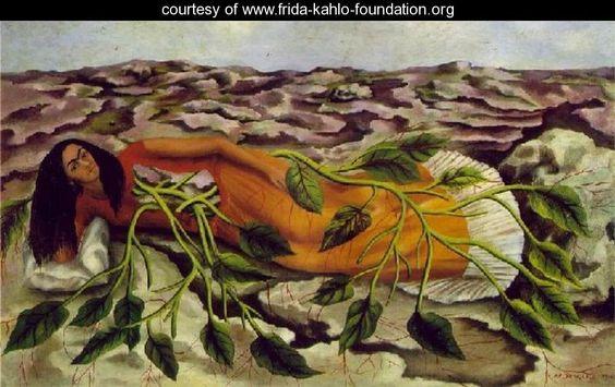 """Frida Kahlo """"raices"""""""