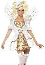 Sexy Steampunk Victorian Clockwork Angel Halloween Costume Small