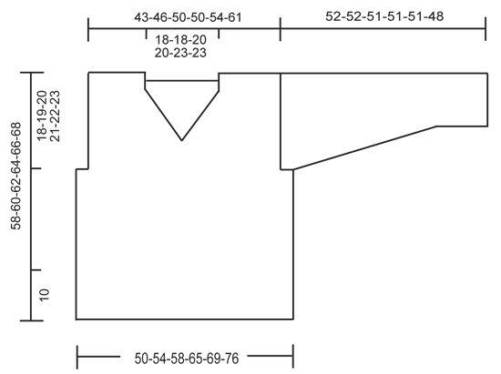 """Just Me - Pulôver rendado DROPS em croché, em """"Cotton Light"""". Do S ao XXXL. - Free pattern by DROPS Design"""