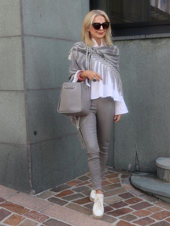 Der persönliche Stil fängt da an, wo die Vergleiche aufhören. | Stilexperte für Styling und Anti-Aging 45+ #womensfashionover50outfitscasual