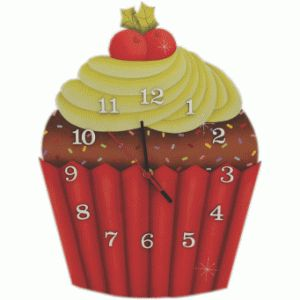 Relogio Cupcake