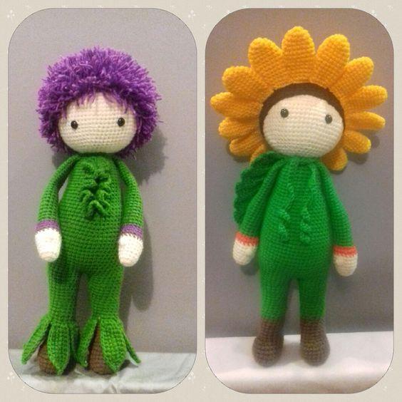 Amigurumi Flower Doll : Crochet amigurumi flower dolls made by Monika J - crochet ...