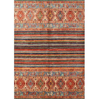 World Menagerie Maghin Contemporary Brown Area Rug Area Rugs Colorful Rugs Brown Area Rugs