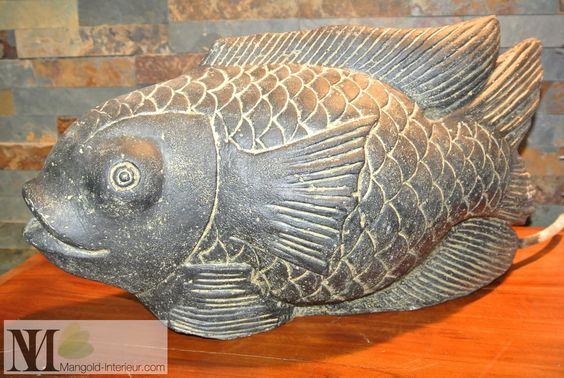 Карп кои - скульптура