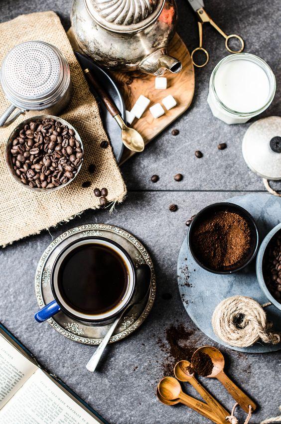 The Coffee Ritual via .roseandivyjournal