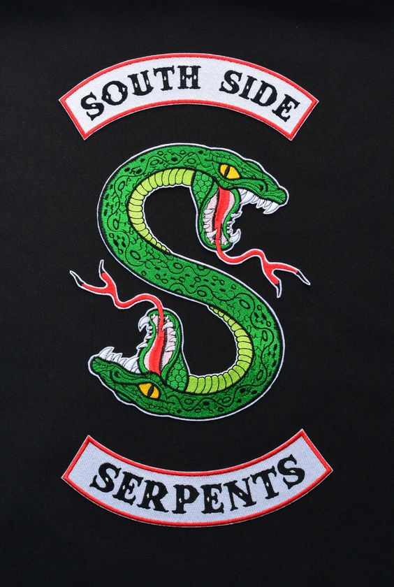 Riverdale South Side Serpents Inspired Embroidered Patch,Southside Iron on patch | Crafts, Sewing, Embellishments & Finishes | eBay!
