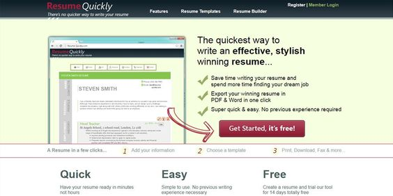 Write Click Resume Online Resume Builders Pinterest Online - winning resume