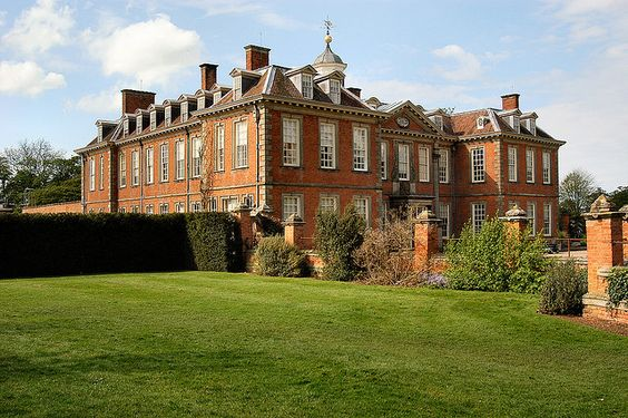 Early 18th century Hanbury Hall, Droitwich, Worcestershire, a National Trust property