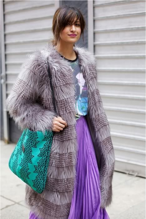 The eccentric old lady in me is loving this coat