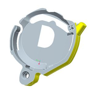 Hearing Aid Parts-Battery compartment