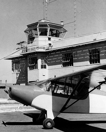 Orange County Airport tower, 1950s   Flickr - Photo Sharing!