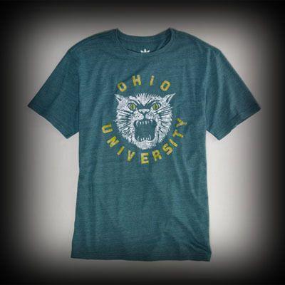 アメリカンイーグル メンズ Tシャツ American Eagle OHIO UNIVERSITY VINTAGE Tシャツ-アバクロ 通販 ショップ-【I.T.SHOP】 #ITShop